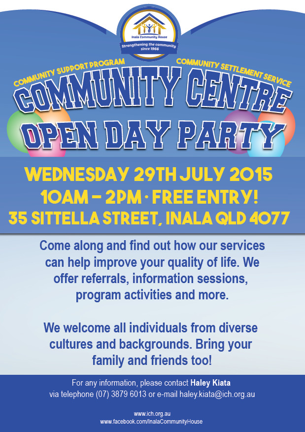 Community Centre Open Day Party
