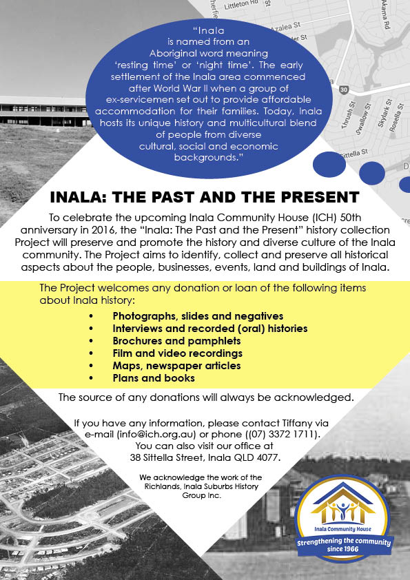 Inala: The Past and the Present Project