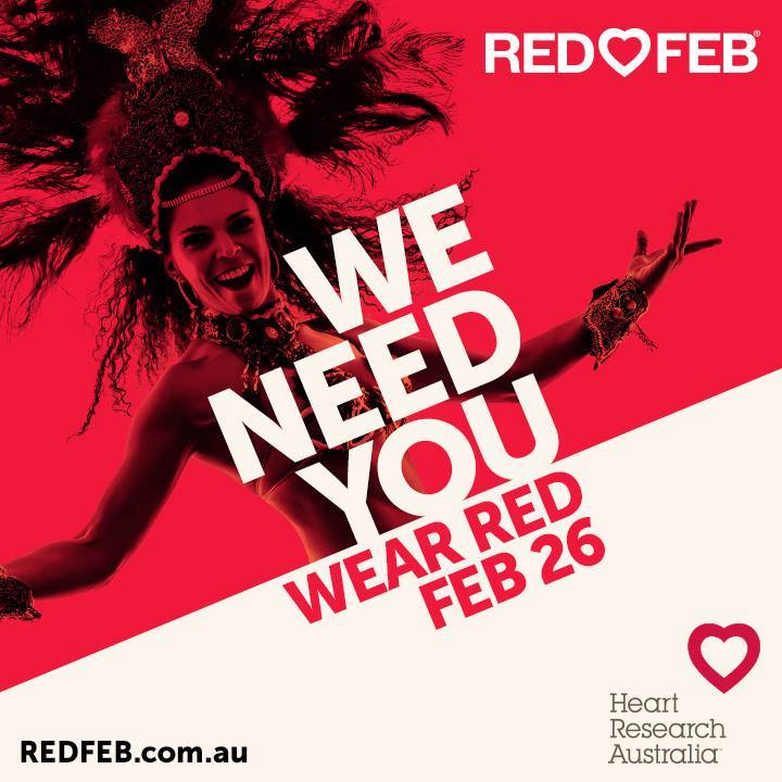 Wear Red Day for Heart Disease