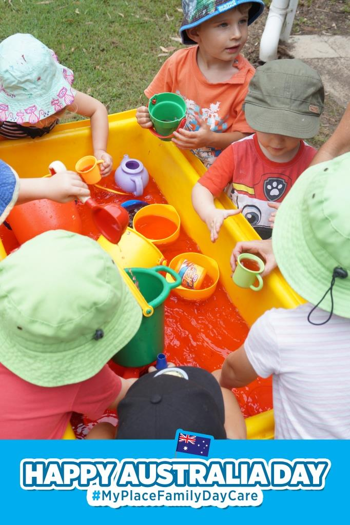 'My Place' Family Day Care: Happy Australia Day Playgroup