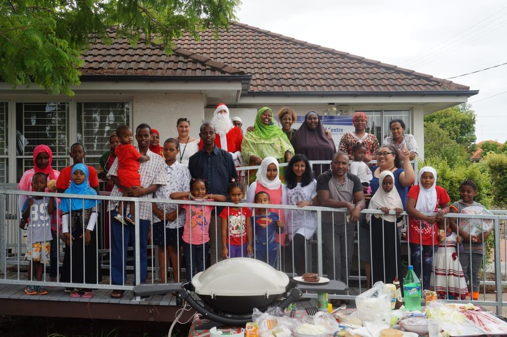 Community Settlement Service: 2016 End-of-Year BBQ Session