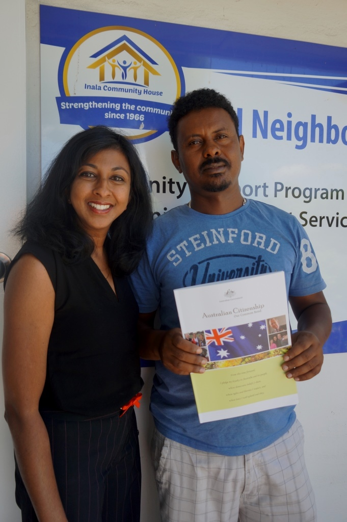 Community Settlement Service: Success Story of English/Citizenship Preparation Class