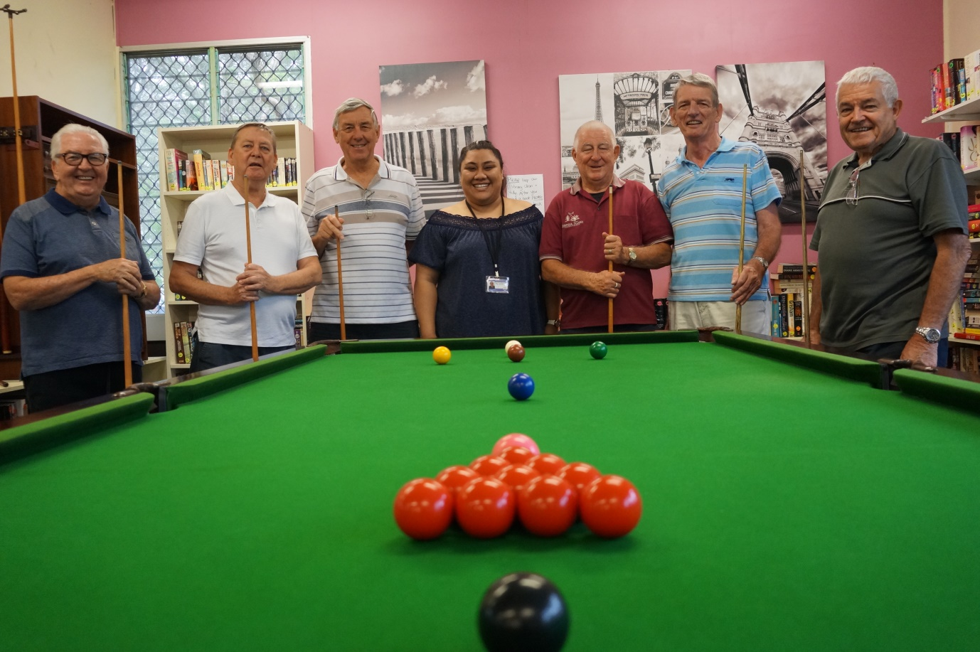 50 & Better Healthy Ageing: Men's Pool Table Group