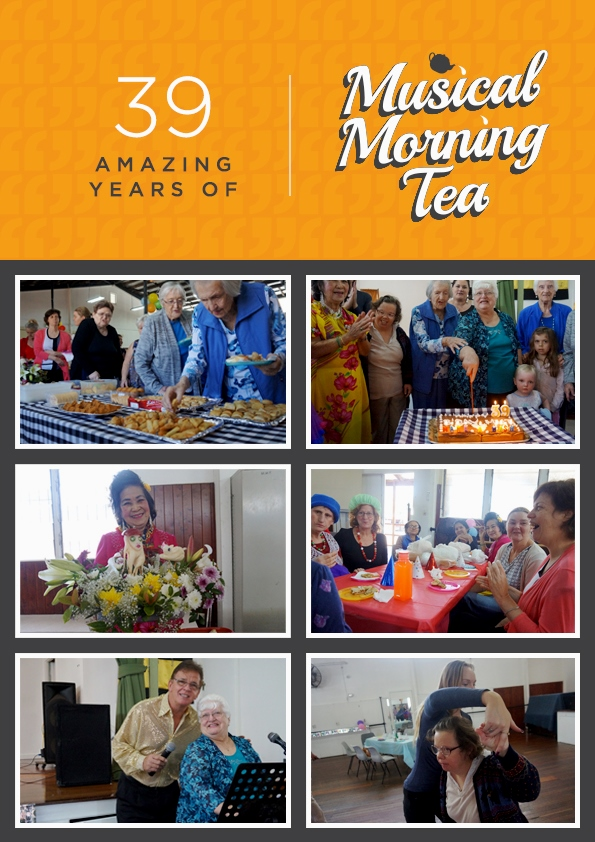 Community Engagement: 39 Amazing Years of Musical Morning Tea