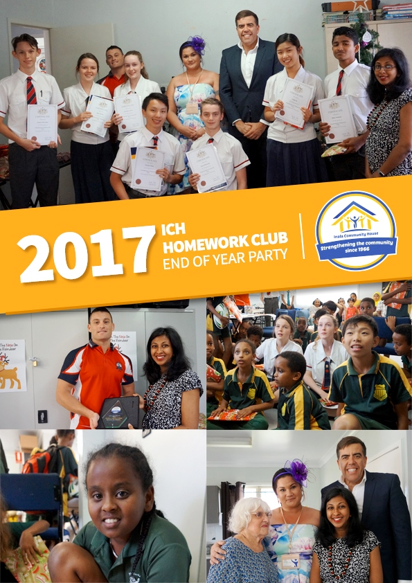 Community Engagement: 2017 ICH Homework Club End of Year Party