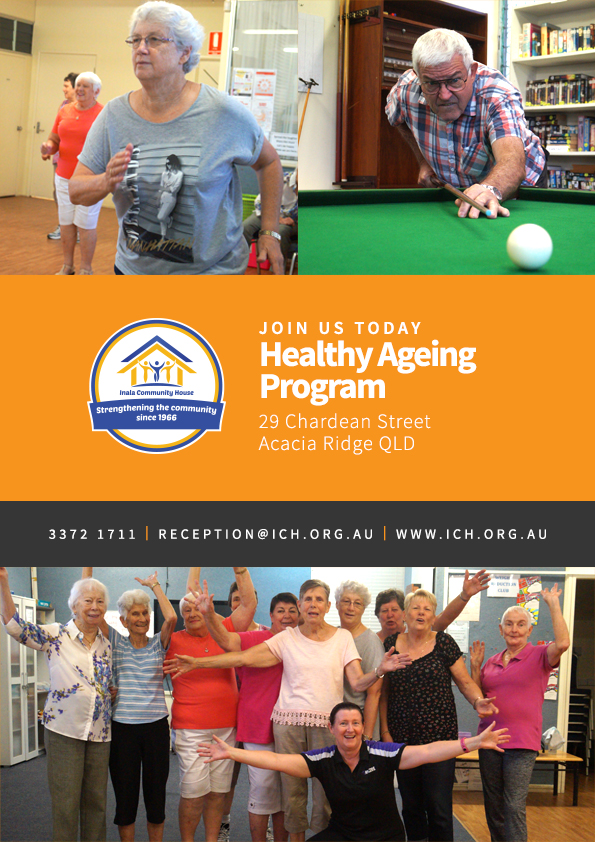 50 & Better Healthy Ageing Programs: Staying Physically and Socially Healthy in 2018